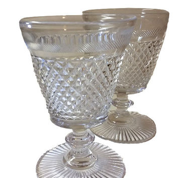 Incredible Set of Water Goblets