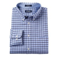 Chaps Classic-Fit Plaid Oxford Button-Down Collar Dress Shirt - Men, Size: