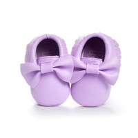 Lavender Moccasins, Light Purple Moccasins, Baby Shoes, Vegan Soft Sole 3-18 months Infant Shoes Gift Toddler, Purple Baby Shoes, Bow Shoes