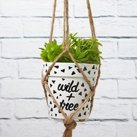 diy hanging planter kit