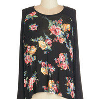 ModCloth Mid-length Long Sleeve Abound with Beauty Top