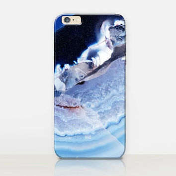Crystal Marble Phone Case  - iPhone 6 Case - iPhone 5 Case - iPhone 4 Case - Samsung S4 Case - iPhone 5C - Tough Case - Matte Case