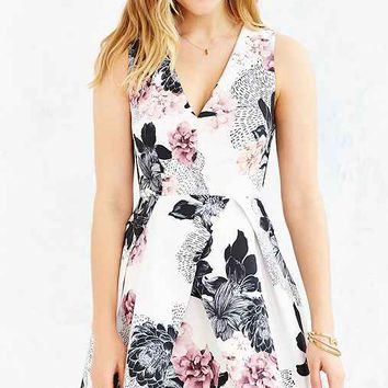 Keepsake Floral Gone Girl Dress