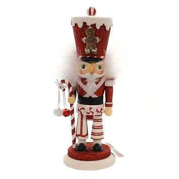 Christmas HOLLYWOOD GINGERBREAD SOLDIER Wood Nutcracker Ha0324a
