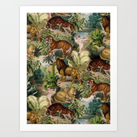 The beauty of the forest Art Print by burcukorkmazyurek
