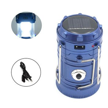 EZK20 Rechargeable Camping Light | Collapsible Solar Camping Lantern | Portable Tent Lanterns For Outdoor