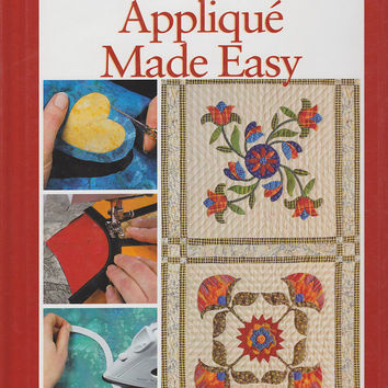 Book: Applique Made Easy - Rodales Successful Quilting Library