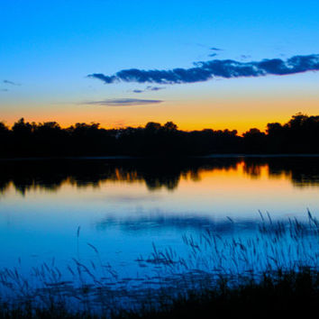 Blue Serenity ~ Made-To-Order Landscape Photography Canvas & Wall Prints