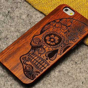 Wood Iphone Case,  iphone 6s plus case, iphone 6s wood case, wooden iphone case