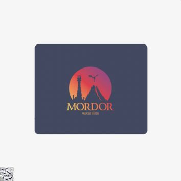 Visit Mordor, Lord Of The Rings Mouse Pad