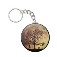 Moon Dance Key Chain from Zazzle.com