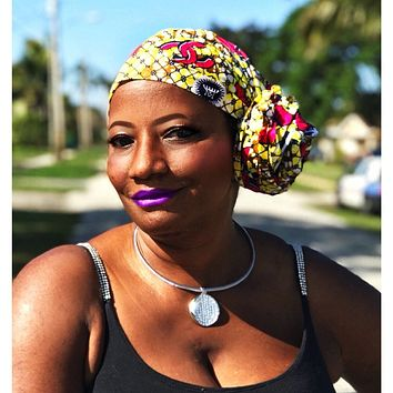 The Cape African Print  HeadWrap