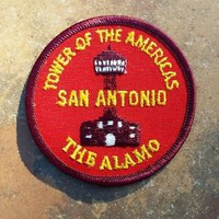 Vintage Tower of the Americas San Antonio The Alamo Texas Patch Badge