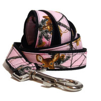 Pink Realtree Dog Leash