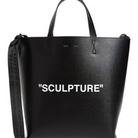 Off-White Large Sculpture Leather Tote | Nordstrom
