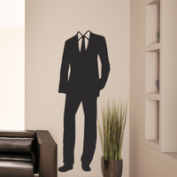 Vinyl Wall Decal Sticker Suit #OS_MB1103