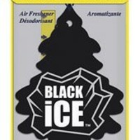 Car Freshener 10155 Little Tree Air Freshener-Black Ice