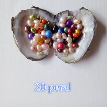 2017 hot new 20 pearl color to friends and lovers the best gift!