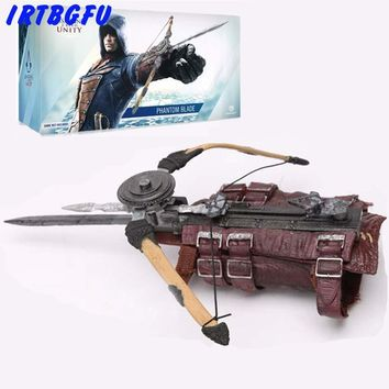 Assassins Creed Unity Hidden Blade Cosplay Edward Kenway Costume Action Figure Assassins Creed Hidden Blade Pvc Model Collection