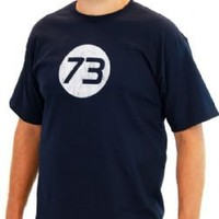 The Big Bang Theory Sheldon 73 Mens T-Shirt - Shirts Sheldon Has Worn - | TV Store Online