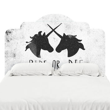 Ride or Die Headboard Decal