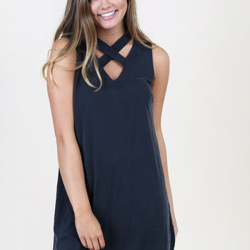 Altar'd State Criss Cross Dress - Dresses - Apparel