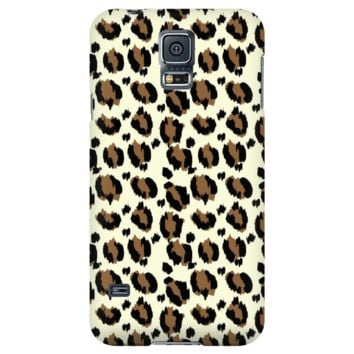 Samsung Galaxy and iPhone Leopard Print Cases