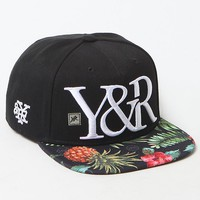 Young & Reckless Trademark Maui Wowie Snapback Hat - Mens Backpack - Black - One