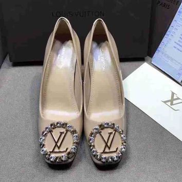 LV Louis Vuitton Women Casual Heels Shoes