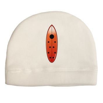 Ladybug Surfboard Child Fleece Beanie Cap Hat by TooLoud