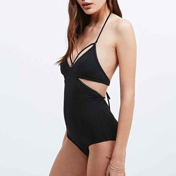 Somedays Lovin' Prime Time Swimsuit in Black - Urban Outfitters