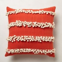 Tassel Trace Pillow by Anthropologie
