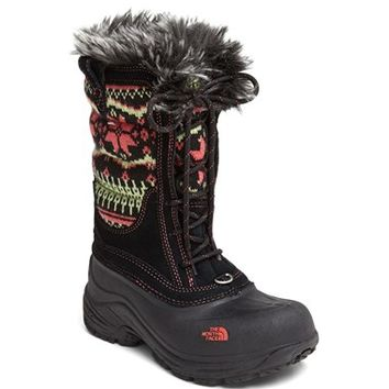 Girl's 'Shellista' Lace Up Snow Boot,