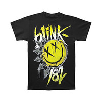 Blink 182 Men's  Big Smile T-shirt Black