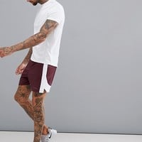 ASOS 4505 Shorts With Cut & Sew In Grey at asos.com