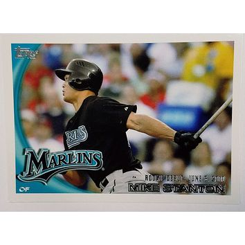 MIKE/GIANCARLO STANTON ROOKIE 2010 Topps UPDATE #US-327 Marlins, Home Runs 50++