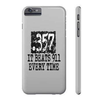 .357 Cell Phone Case