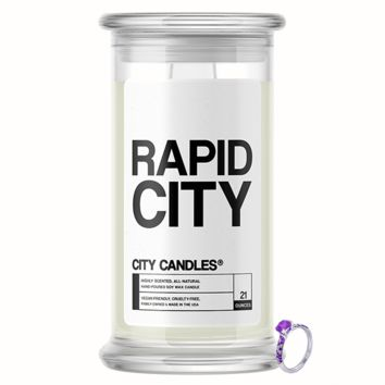 Rapid City City Jewelry Candle