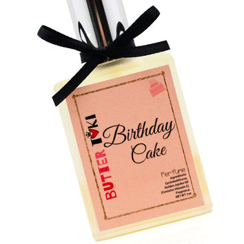 BIRTHDAY CAKE Fragrance Oil Based Perfume 1oz