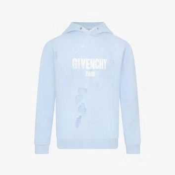 PEAPLM3 Givenchy hole long sleeve sweater
