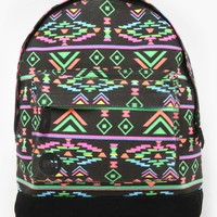 Mi-Pac Aztec Backpack - Neon Black