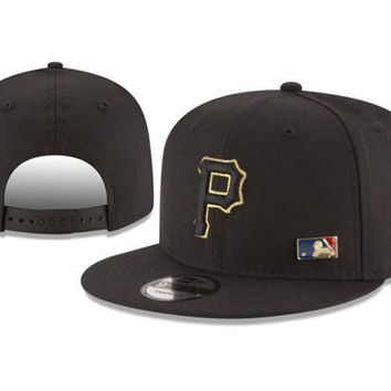 New Arrival New Era Black Cap MLB Baseball Fitted Hat-4