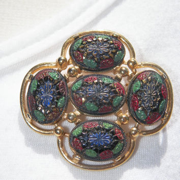 Vintage 1968 Sarah Coventry Brooch