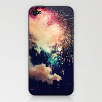 Bursts of light. iPhone & iPod Skin by Andrea Coan | Society6