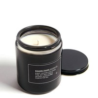 Leather & Smoke Scented Soy Candle