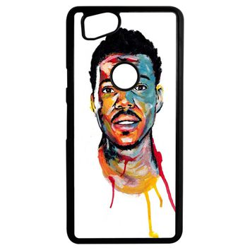 Acrylic Painting Of Chance The Rapper Google Pixel 2 Case