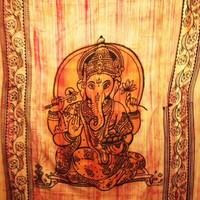 Ganesh Tapestry Stonewashed - mellow mood
