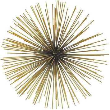 Starburst Wall Sculpture - Metal Wall Sculpture - Metal Wall Decor - Wall Sculptures - Metal Wall Art | HomeDecorators.com
