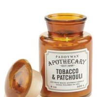 PaddyWax-Tobacco and Patchouli Apothecary Candle-8oz
