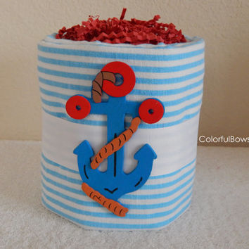 Anchor Baby Shower Theme / Sailor Baby Shower Gift / Unique Baby